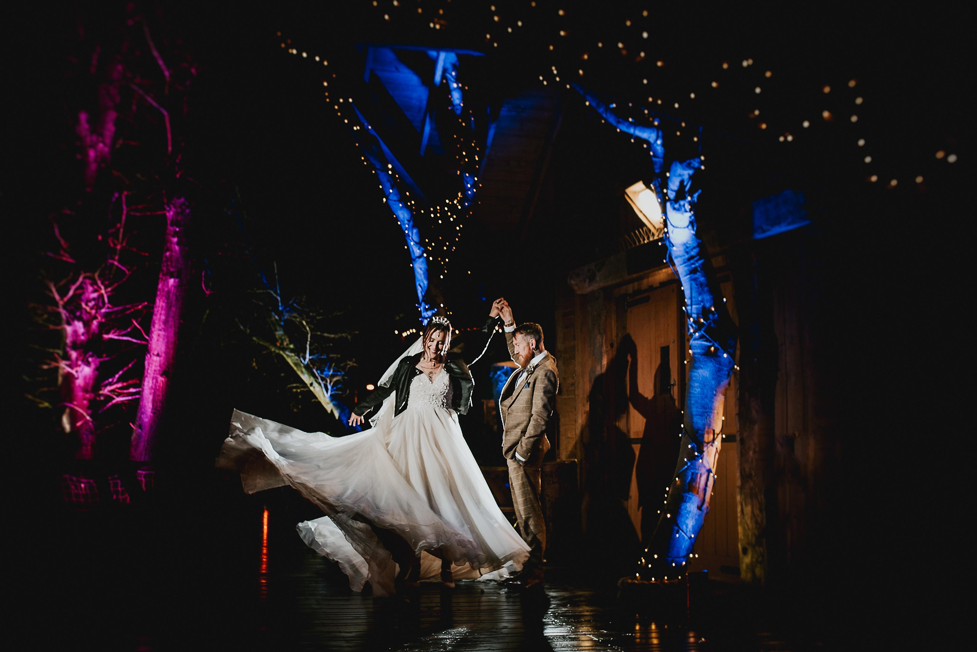 Treehouse Alnwick wedding