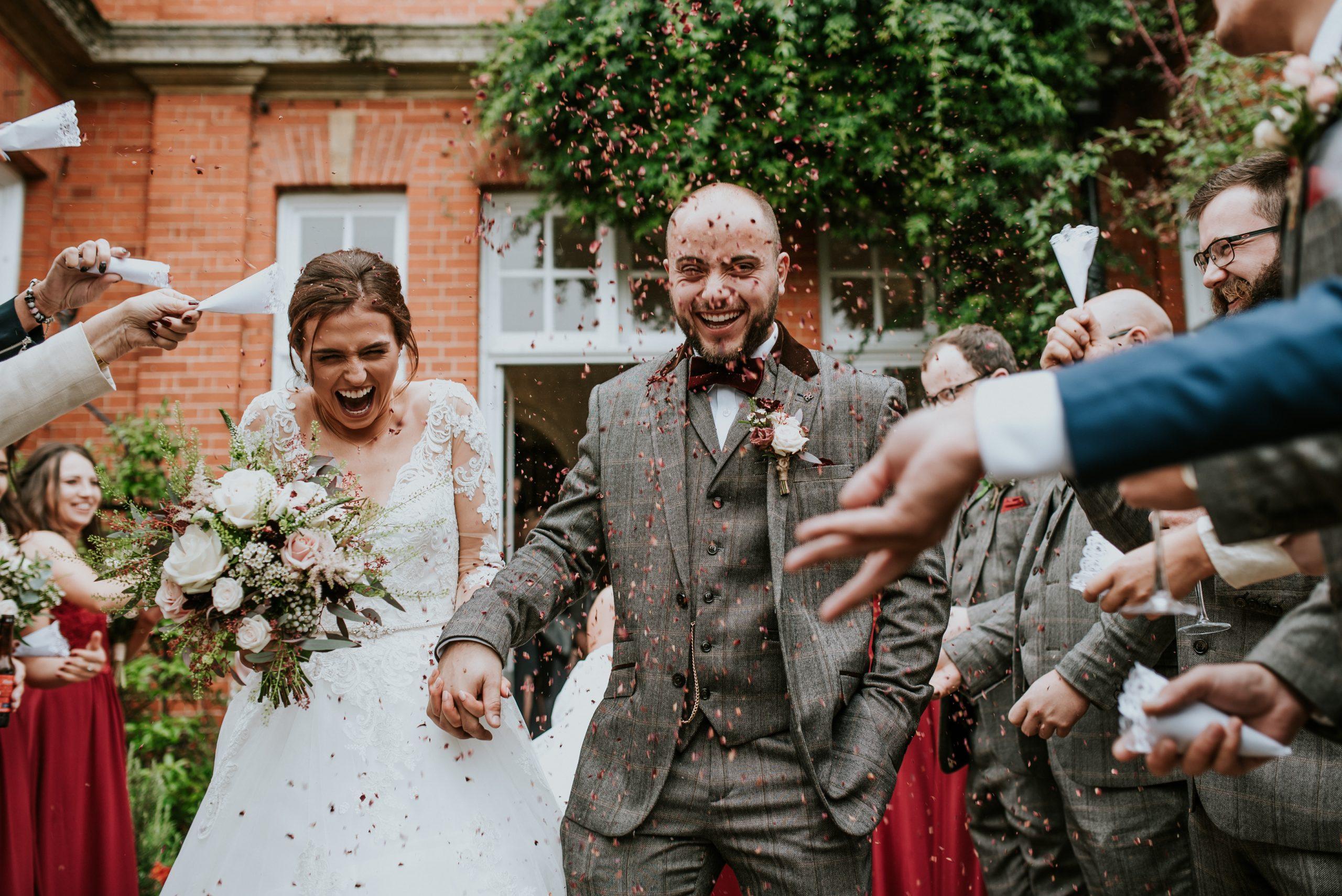 Chippenham Park wedding